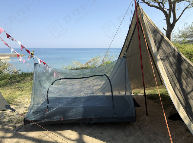 Hawk Zing 折りたたみキャンプコット+蚊帳 購入レビュー