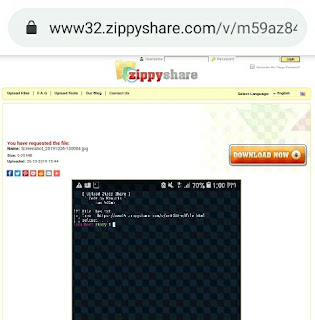 Cara Upload File Ke Zippyshare Menggunakan Termux