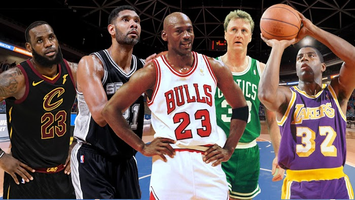 Top 10 Greatest NBA Players All Time - Axearo Top 10