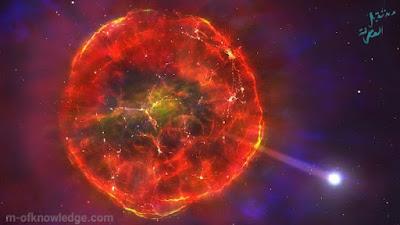 علماء فلك من جامعة بوسطن Boston University الأمريكية يرصدون قطعة من نجم متفجر تندفع عبر مجرة درب التبانة Milky Way بسرعة فائقة !