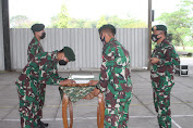 Danyonif Mekanis Raider 413 Kostrad Pimpin Acara Serah Terima Jabatan Danki di Sukoharjo