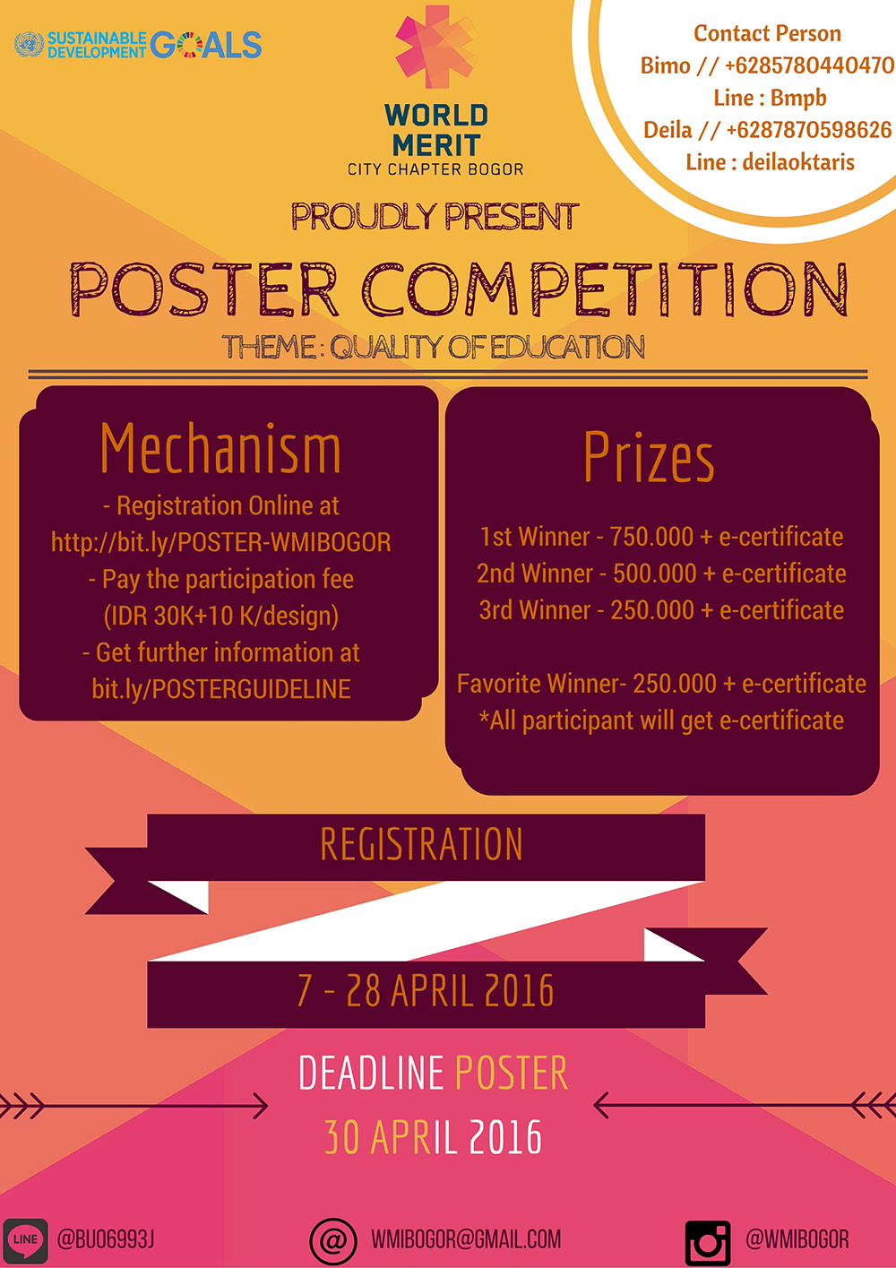 NATIONAL EDUCATION DAY POSTER COMPETITION 2016 - Lomba Event ...