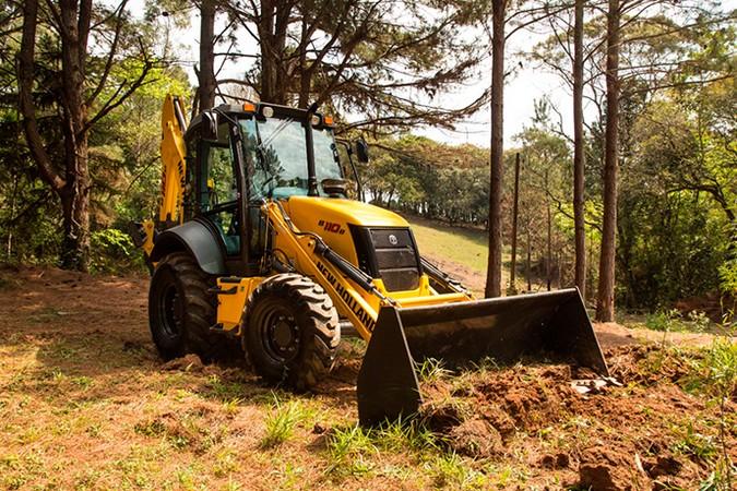 New Holland Construction garante suporte e assistência técnica aos clientes
