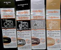 Sally Hansen Insta Gel Strips nail polish kit LED light applique stickers Miracle Top Coat OPI drugstore