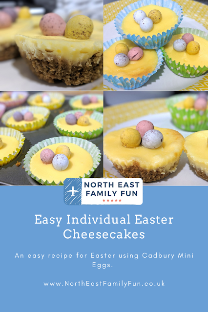Easy Individual Easter Cheesecakes Recipe