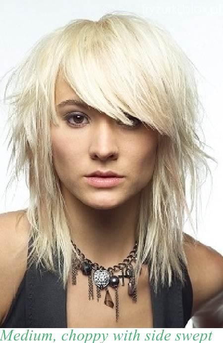 Wwwwlosyes Katalog Modnych Fryzur średnie Blond Włosy Z