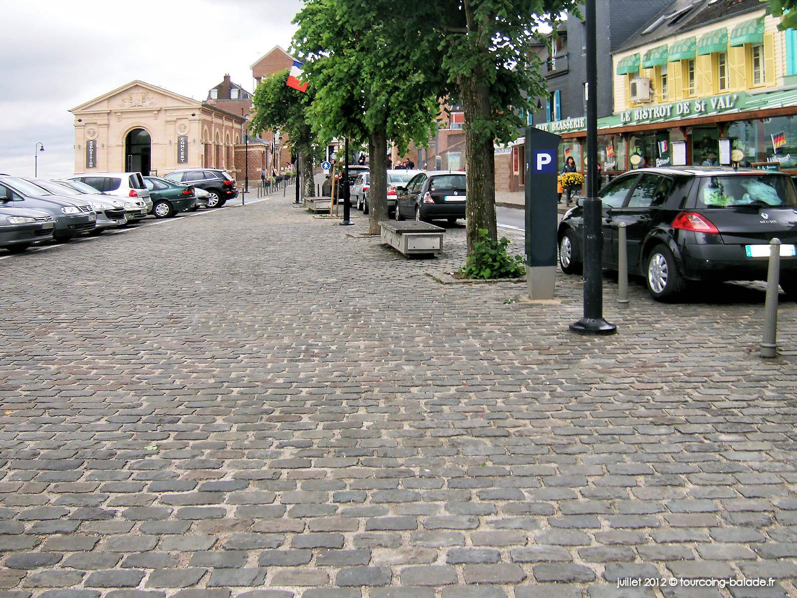 Saint-Valery-sur-Somme, Place des Pilotes, 2012