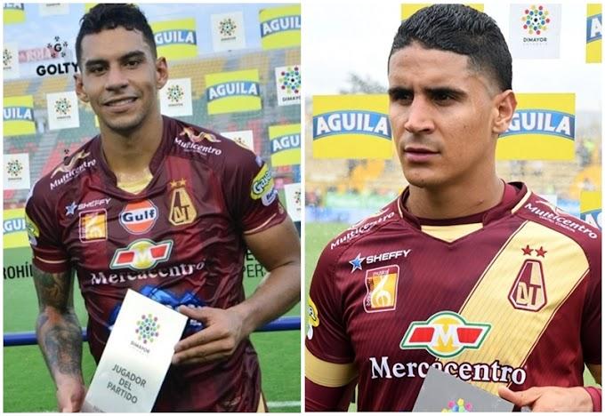 ¡Con el visto bueno! Gordillo y Cataño ya superaron oficialmente lesiones que los marginaron de DEPORTES TOLIMA