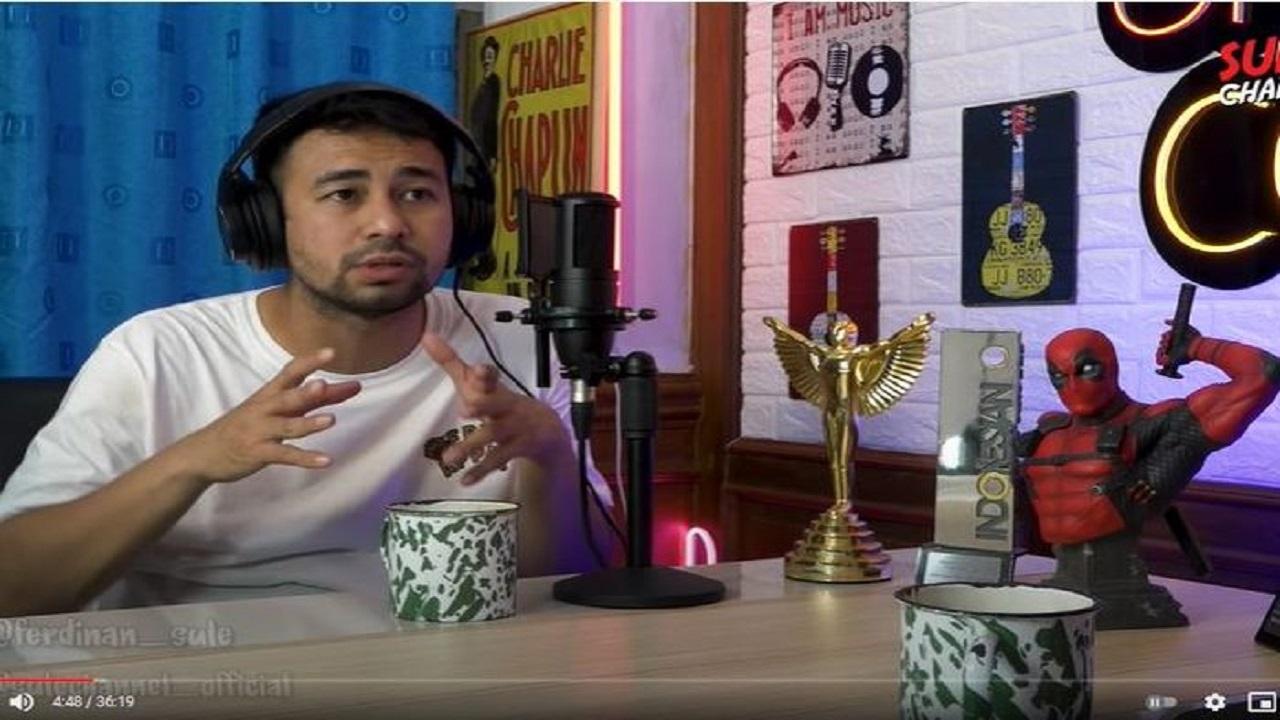 Melesat Cepat Geser Father dan King of Youtube Indonesia, Raffi Ahmad Kini Pegang Title Youtuber Terkaya se-Tanah Air, Sebulan Penghasilan dari Kontennya Hampir Rp 7 Miliar