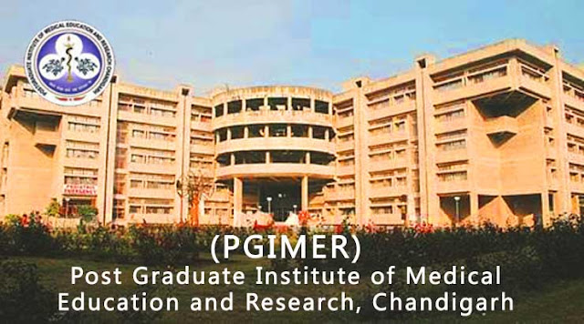 Chandigarh Jobs Institute for Medical Education and Research (PGIMER),