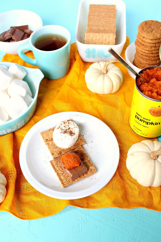 Pumpkin Spice S'mores