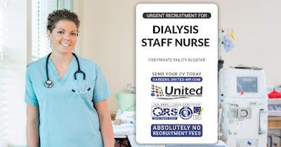 Dialysis Staff Nurse to Qatar - Apply Now