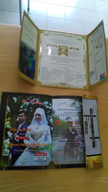 Undangan Pernikahan Custom