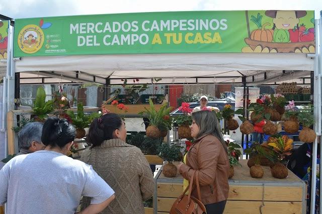 Mercado Campesino en Facatativá: bueno, bonito y barato