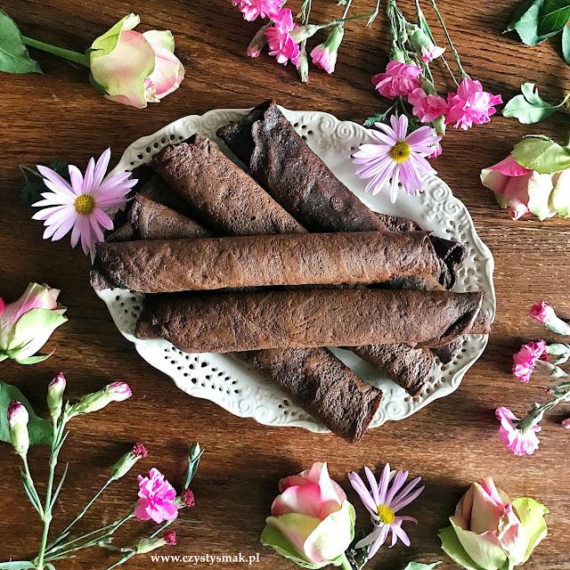 Kakaowe naleśniki low carb