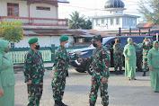 Kasdam IM Kunjungi Kodim 0107/Aceh Selatan dan Beri Pengarahan Kepada Prajurit dan Anggota Persit