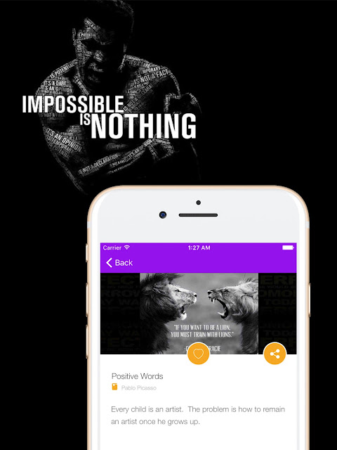 Inspirational and Motivational Quotes iOS App For iPhone & Ipad At itunes