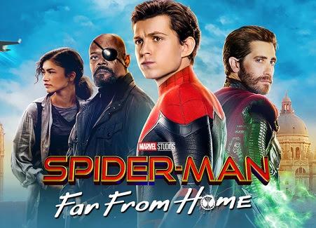 Download Spider-Man Far from Home (2019) Dual Audio [Hindi + English] 720p + 1080p + 2160p UHD BluRay ESub