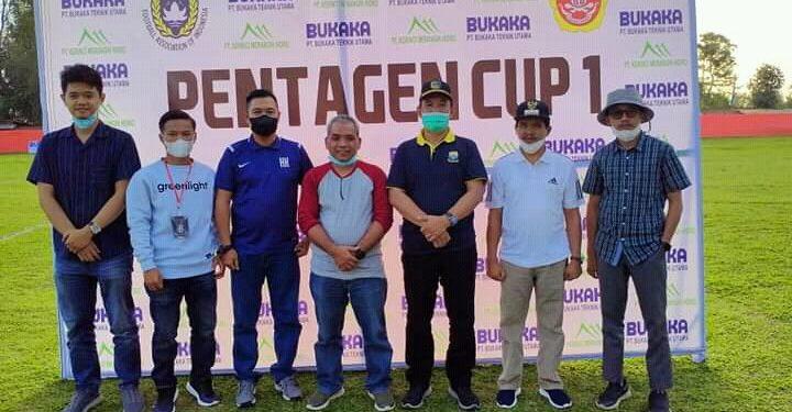 Pj Sekda Asraf Buka Turnamen Sepakbola Pentagen Cup I