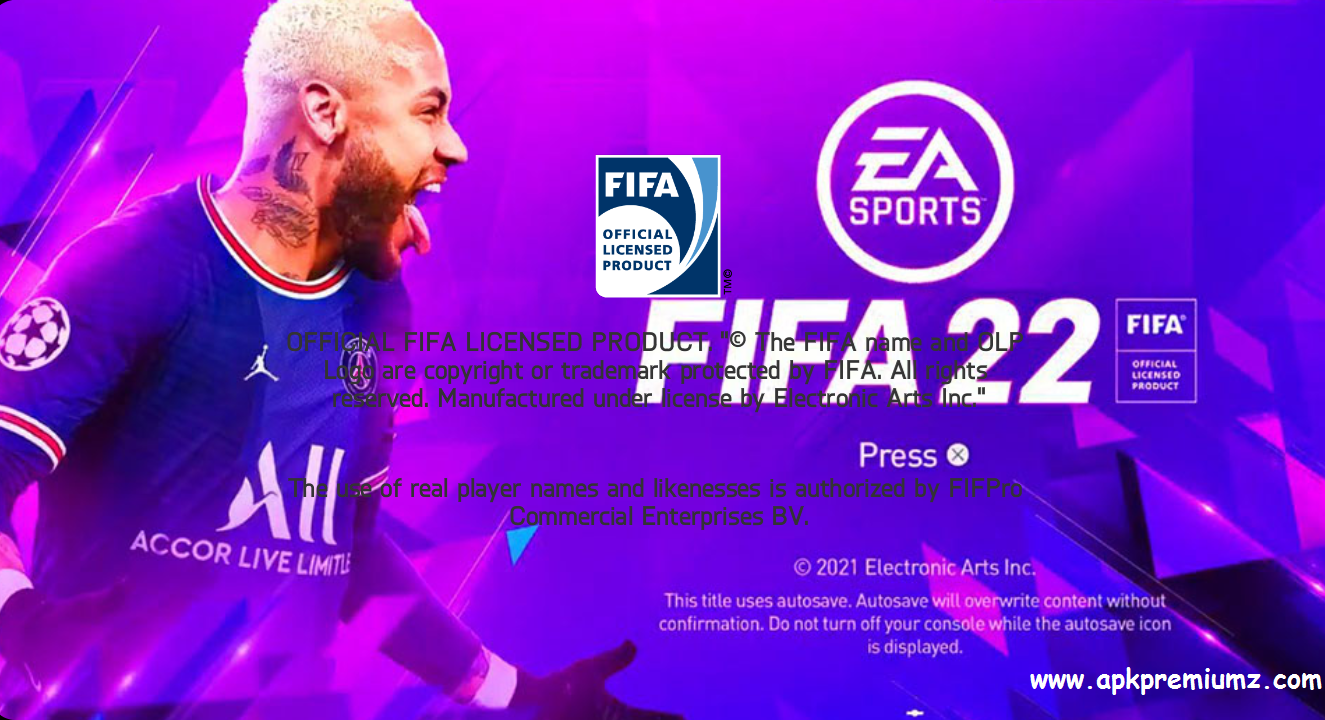 FIFA 2022 Mod APK, Obb and Data Offline Game Download
