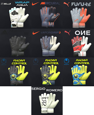 PES 2017 Mini Glovepack 2019 by Tisera09