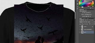 Cara MenDesain Baju Di Adobe Photoshop