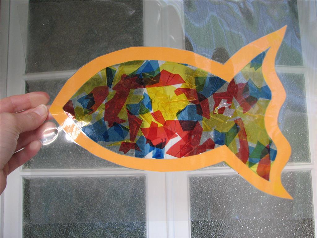 Arty Crafty Studio Stained Glass Sun Catcher Art Activity