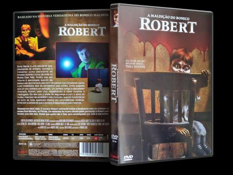 Capa DVD A Maldição do Boneco Robert (Oficial)