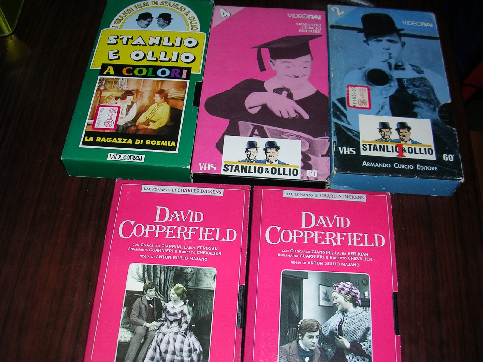 David Copperfield Libro Vuoi Un Libro Stanlio And Ollio David Copperfield Vhs