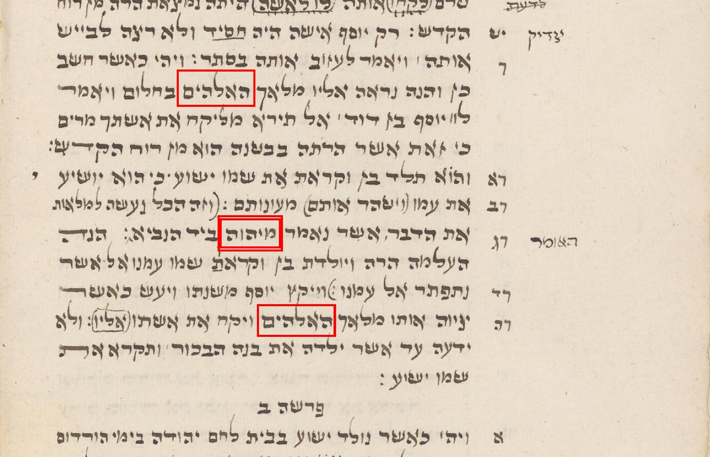 Tetragram w przekładach Nowego Testamentu
