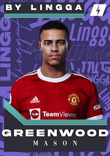 PES 2021 Faces Mason Greenwood by Lingga