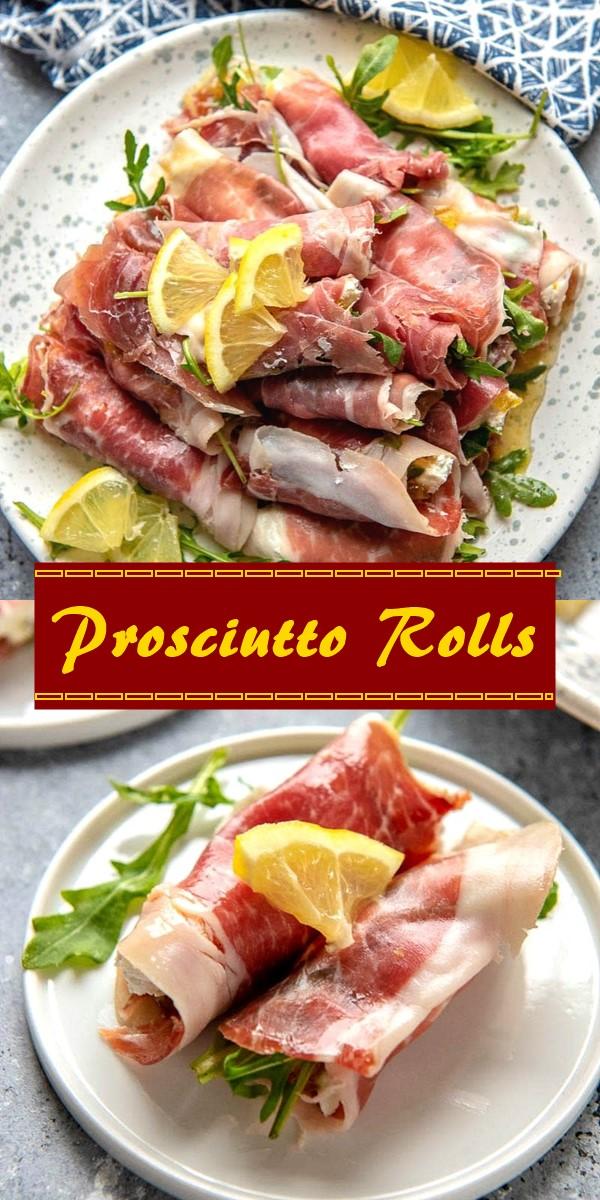 Prosciutto Rolls #appetizerrecipes