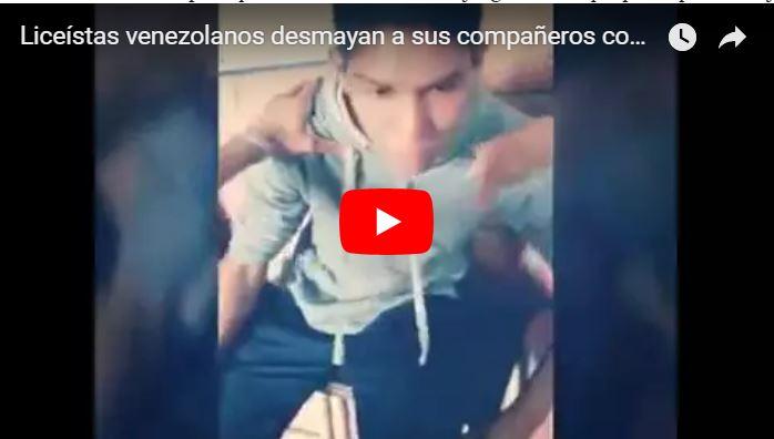 Estudiante cayó preso en Quibor por jugar al Shoking Game