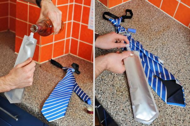 corbata cantimplona