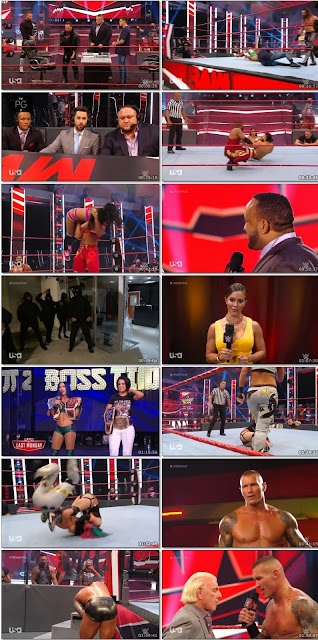 WWE Monday Night Raw 10th Aug 2020 480p 300Mb HDTV || 7starHD
