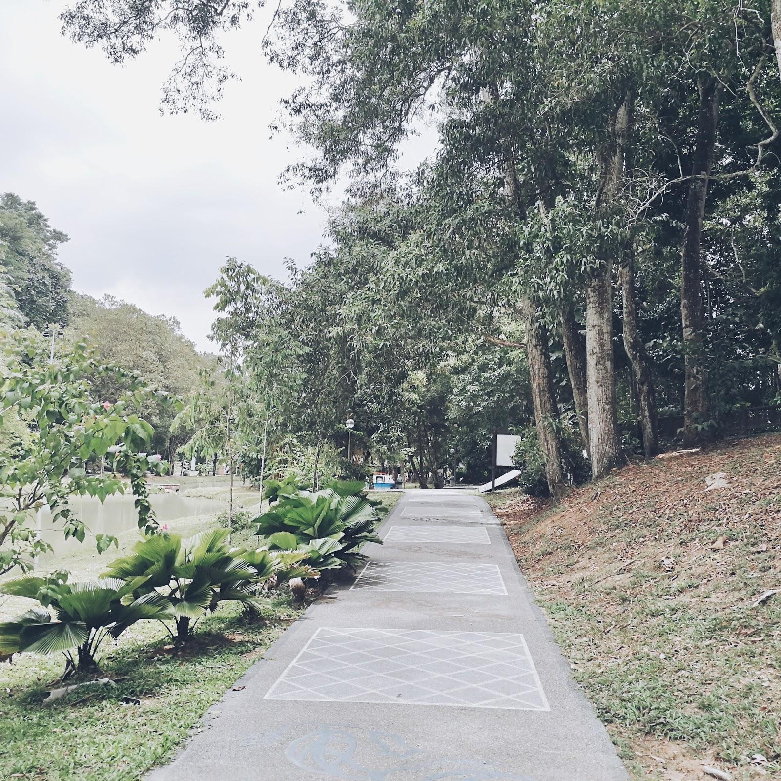Landscape of Hutan Bandar Johor Bahru - the Upgrade