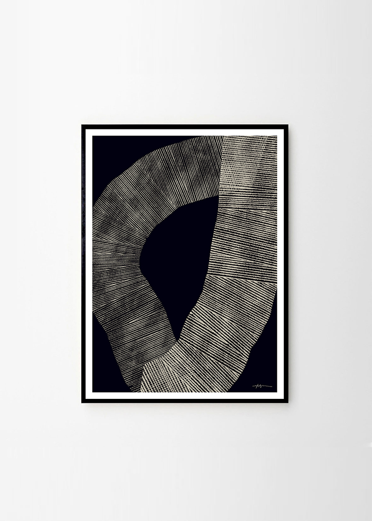Studio Paradissi x The Poster Club. Abstract 696 Art Print