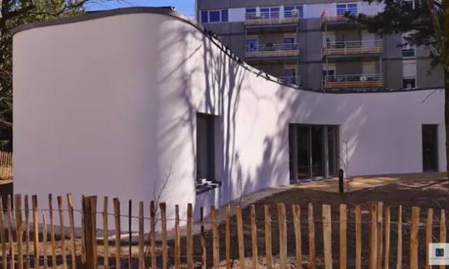 Απίστευτο: Αυτό είναι το πρώτο σπίτι στον κόσμο που βγήκε από τρισδιάστατο εκτυπωτή (video)