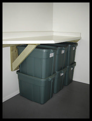 Laundry Room - Utility Bench