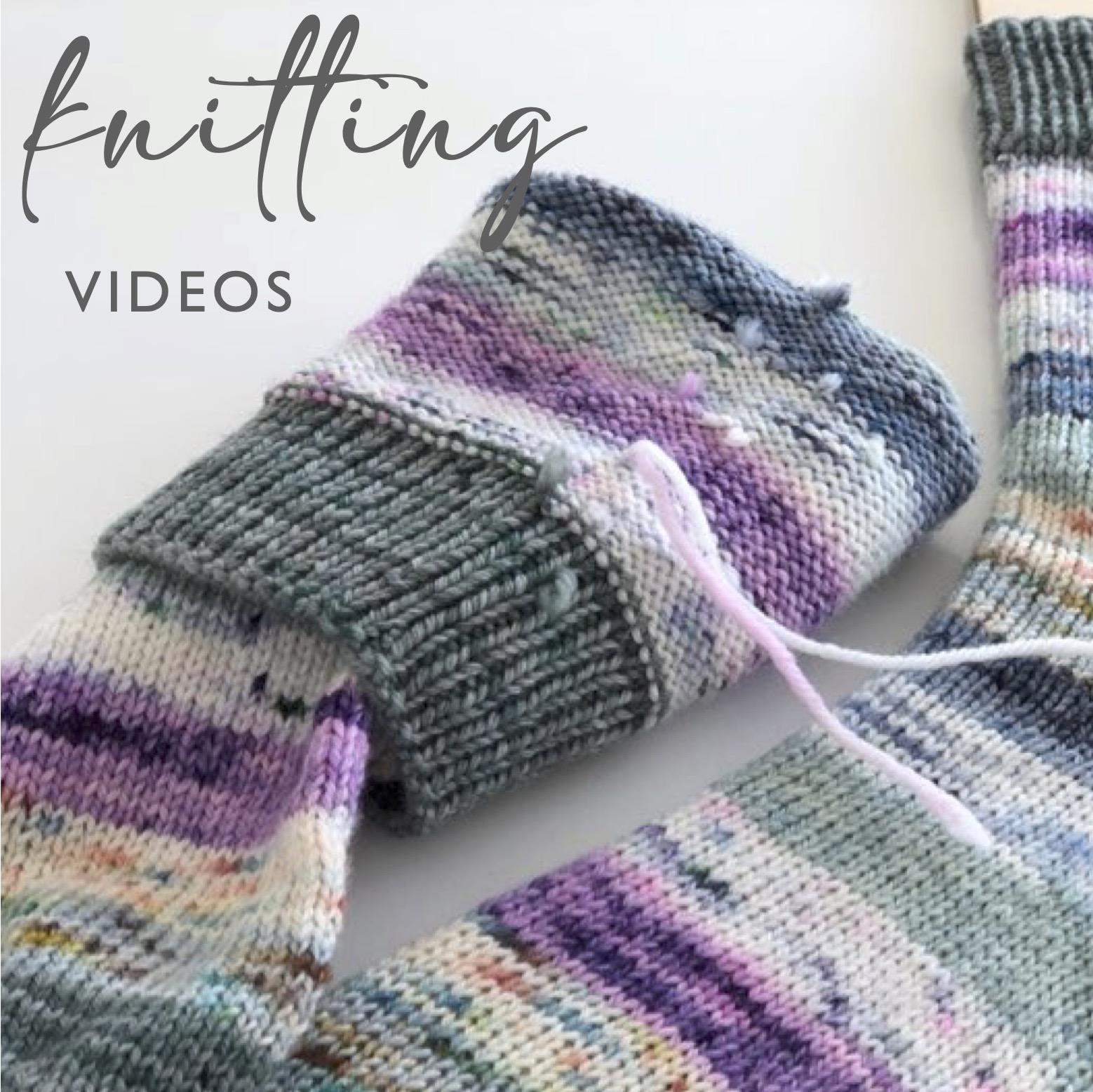 Knitting Tutorials Link