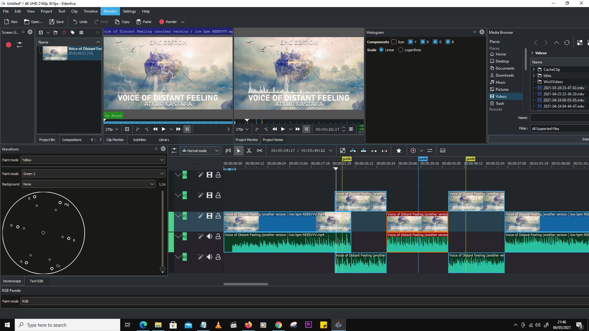 Pengenalan Interface KDENLIVE Software Editing Video Gratis Terbaru 21.04