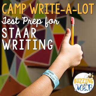 https://www.teacherspayteachers.com/Product/Camp-Write-a-Lot-STAAR-Writing-Test-Prep-2459907