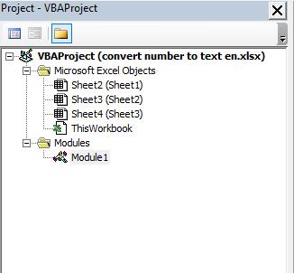 تحويل الأرقام إلى حروف ( تفقيط الأرقام ) باللغة الانجليزية في Excel
