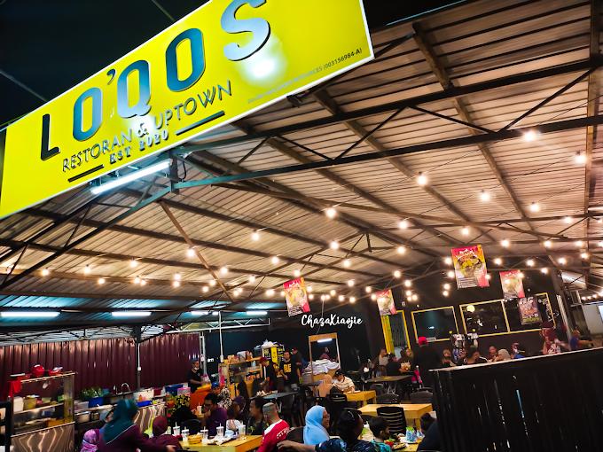 Lo'Qos Uptown Tempat Makan Baru yang  Menarik di Klebang Melaka