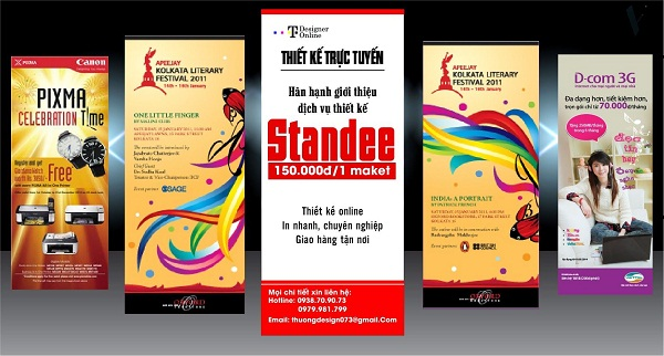 Standee đẹp | 5 mẫu standee đẹp quyến rũ nhất.