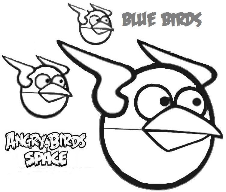 Angry Birds Space - Best Coloring Pages | Minister Coloring