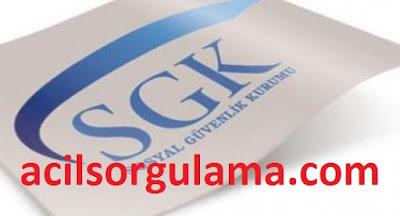Acil SGK Borç Sorgulama