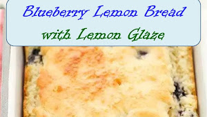#Yummy #Blueberry #Lemon #Bread #with #Lemon #Glaze