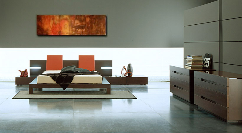 Contemporary Bedroom Furniture For Cozy Interiors   Home Interior .