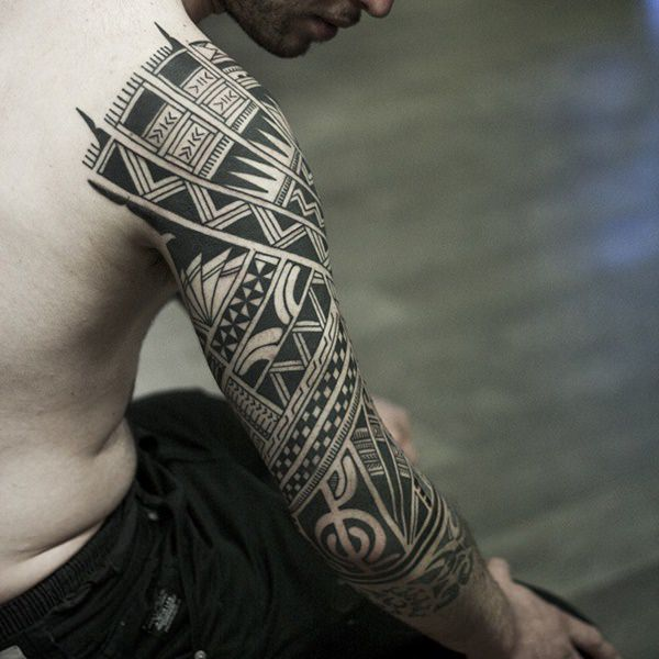 polynesian tattoo with meaning
